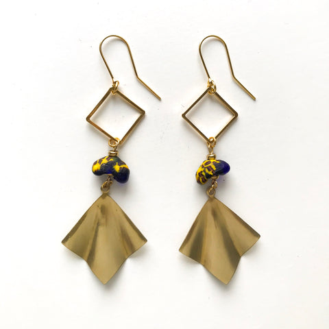 Vida Earrings in Blue