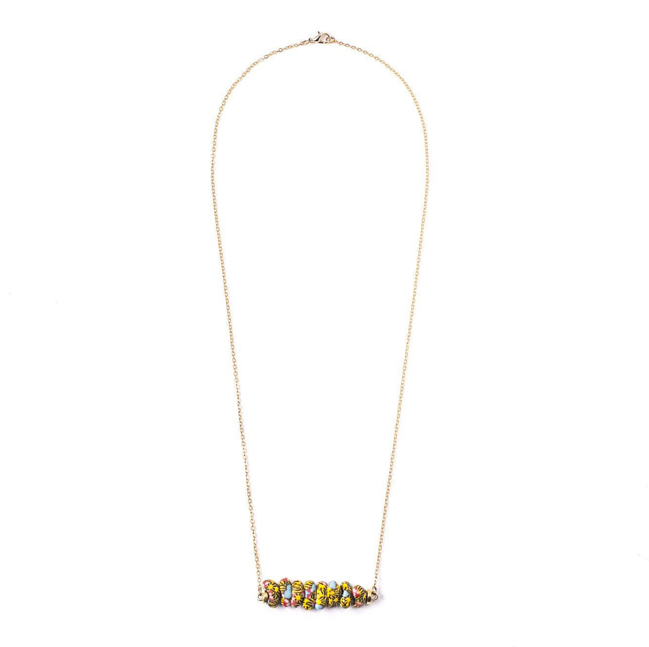 Flo bar Necklace