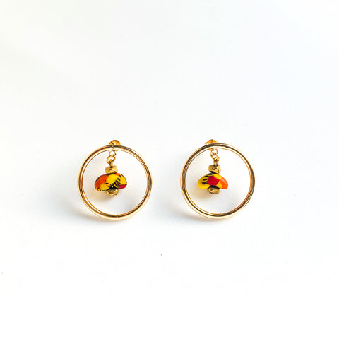 Rikiah Studs (Multi Colour)