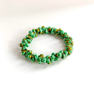 Liv Handmade Glass Bead Stretch Bracelet