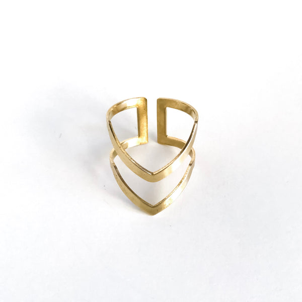 Nia Adjustable Ring