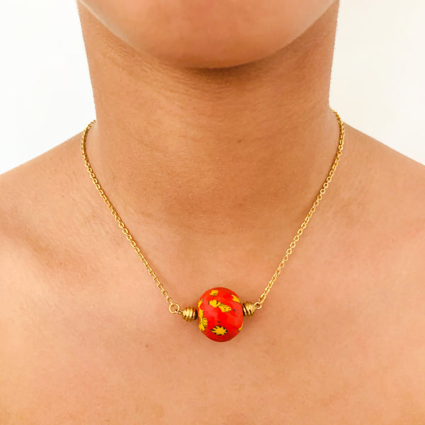 Hagan Ball Necklace