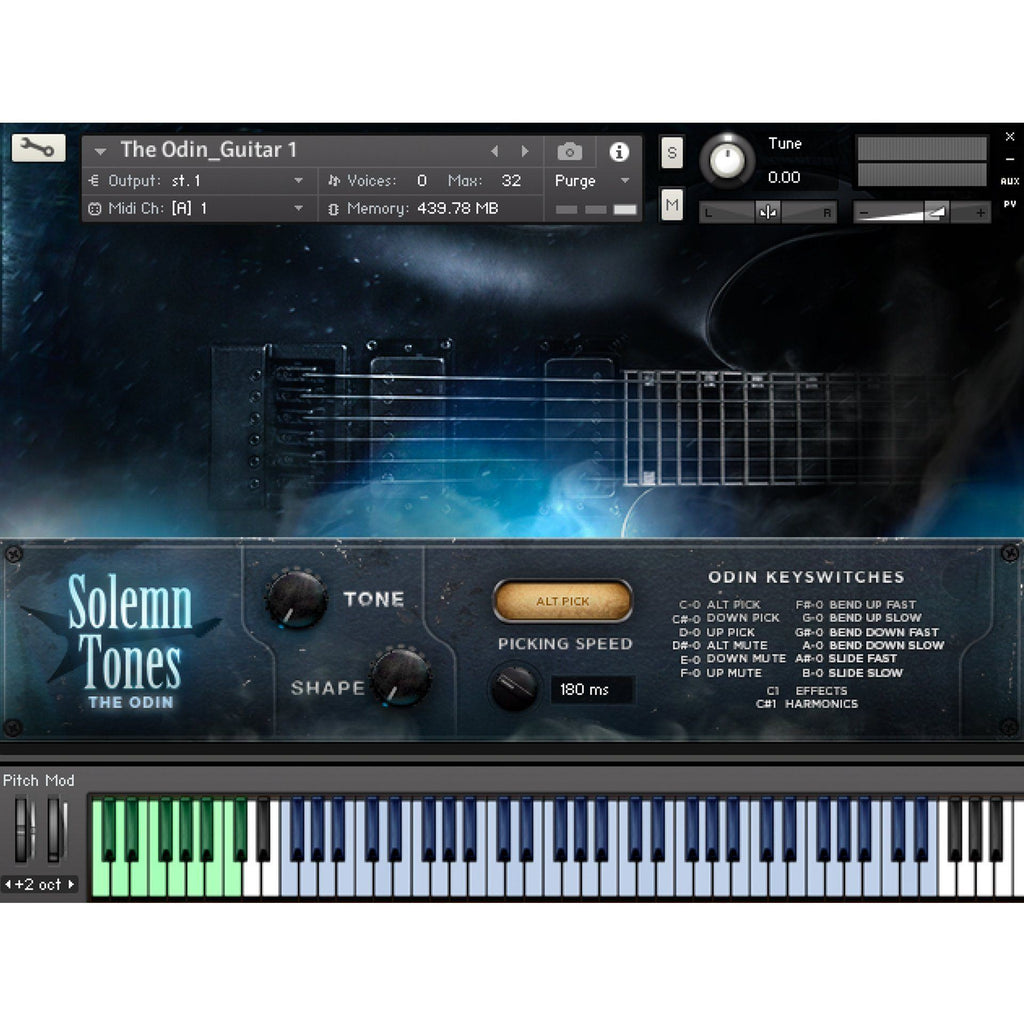 The Odin - Guitar Kontakt Instrument