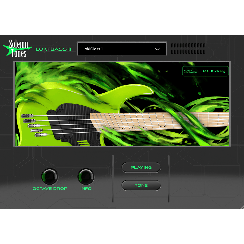 The Loki Bass 2 Digital Instrument Solemn Tones