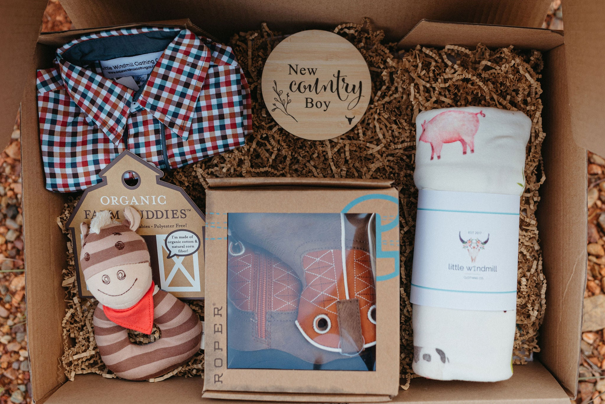 Country Baby Hamper