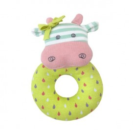 Belle Cow Organic Rattle