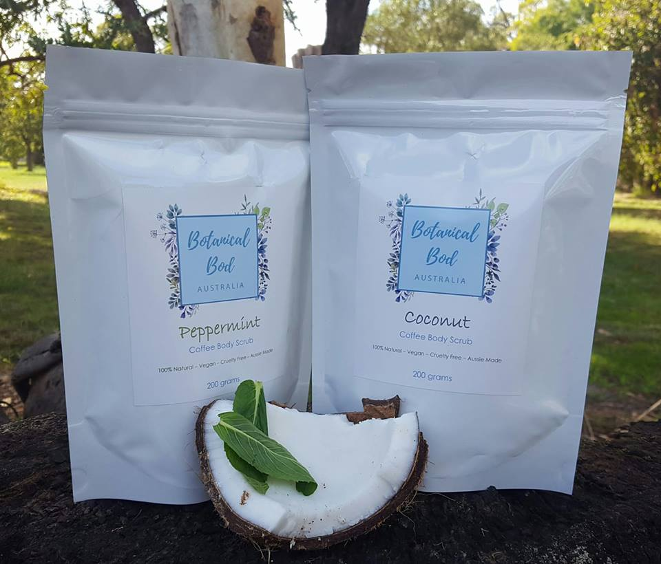 Coffee Body Scrubs - Botanical Bod Australia