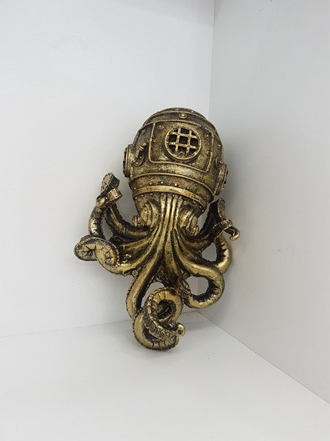 Steam Punk Octopus Wall Art
