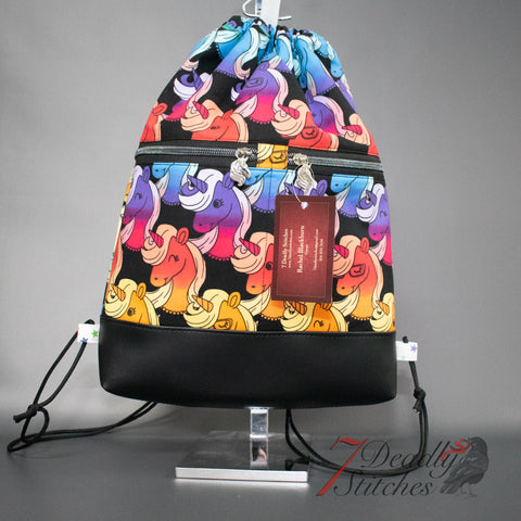 Rainbow Unicorn Begonia Backpack