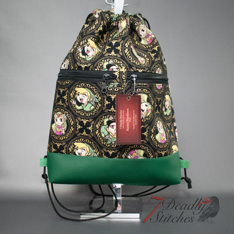 Link and Zelda Begonia Backpack