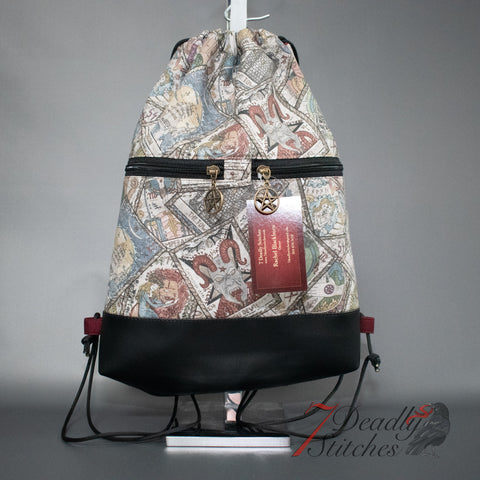 Tarot Cards Begonia Backpack