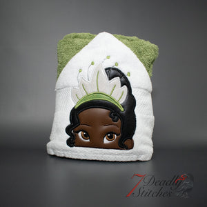 Tiana Hooded Bath Towel
