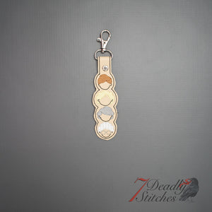 Anti Demon Trap Keychain