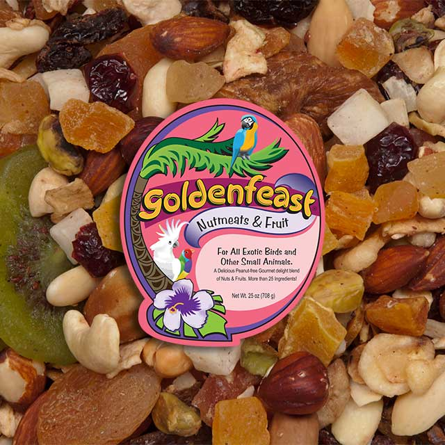 Goldenfeast Nutmeats & Fruit Blend 25oz