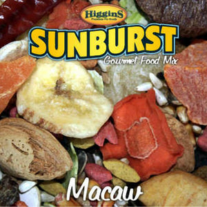 Higgins Sunburst Macaw Food, 25 lbs