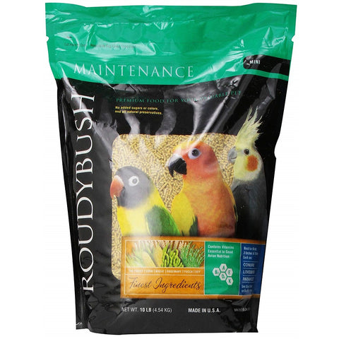 Roudybush Daily Maintenance Bird Food Mini, 10lb