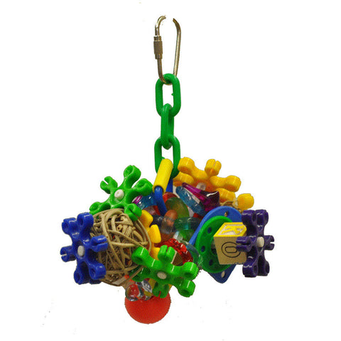 Small Cluster Bird Toy