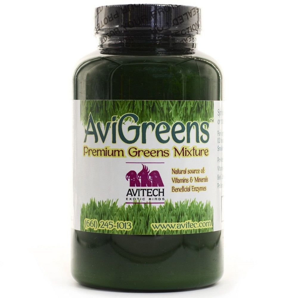 Avitech AviGreens Super Food Bird Supplement – 4oz