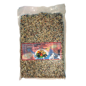 ABBA 1200 Small Hookbill No Sunflower Mix 5lb