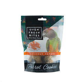 Oven Fresh Bites Birdie Munchies Pet Treat, Coconut Papaya, 4 oz