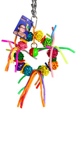 Vineball Wreath with Straws