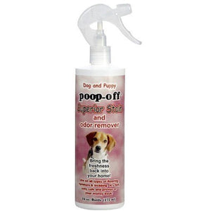 Poop-Off Superior Stain & Odor Remover with Sprayer for Dogs & Puppies, 16 oz
