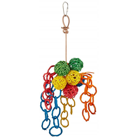 Vibrant Clusters Pet Toy, Small, 5 x 12 inch