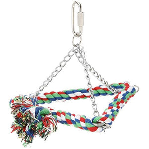 6-Cotton Triangle Bird Swing, Small