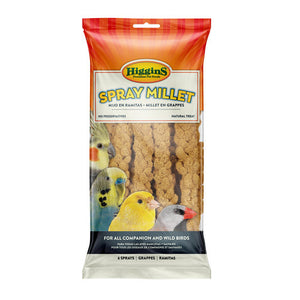 Higgins Snack Attack Spray Millet, 6pc
