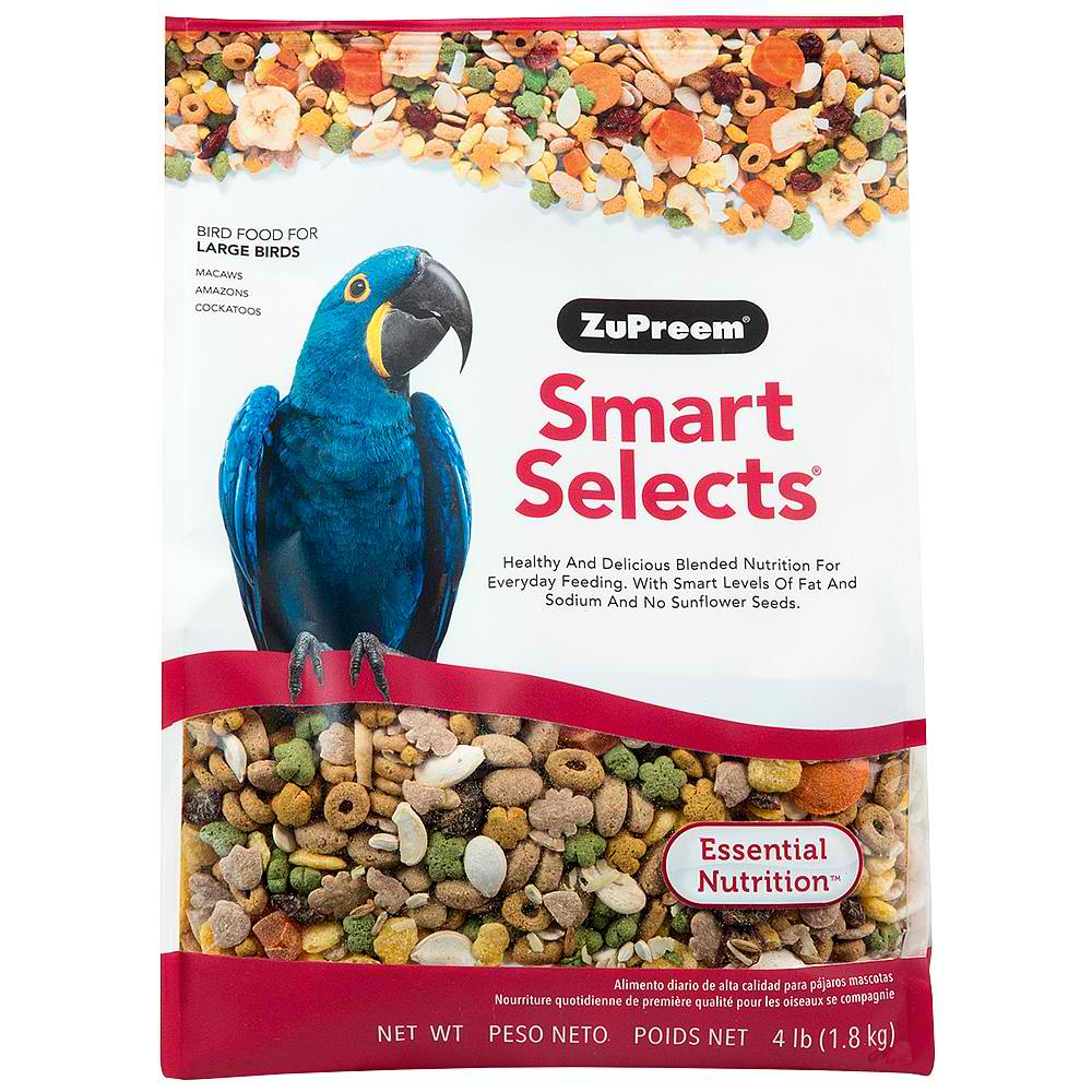 Zupreem Smart Selects for Large Birds, 4 lbs