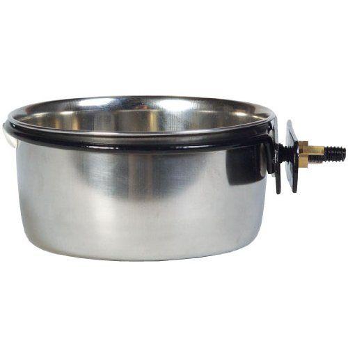 Stainless Steel Cups with Clamp, 10 oz