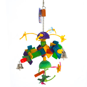 Satellite Bird Toy
