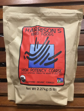 Harrison's High Potency Coarse Bird Food 5lb