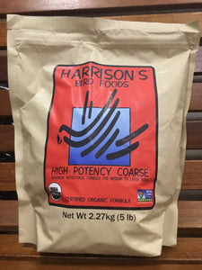 Harrison's High Potency Coarse Bird Food 5lb (6/case)