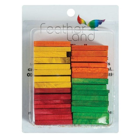 1-1/2-Inch by 2-1/4-Inch Wood Slats Bird Toy