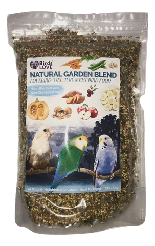 Bird's LOVE All Natural Garden Blend Small, 2 lbs