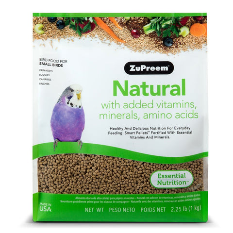 Zupreem Natural for Small Birds, 2.25 lbs