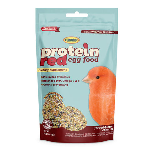Higgins Protein Red Eggfood, 5 oz