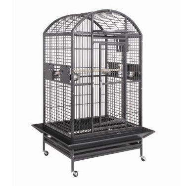 "40""x30"" Dometop Cage, Black"