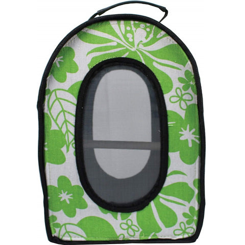 Soft Sided Travel Bird Carrier Green