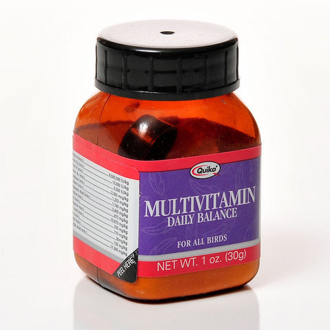 Quiko Multivitamin Daily Balance Supplement for Birds