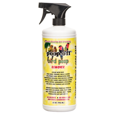 Poop-Off Bird Poop Remover 32 oz Spray Top
