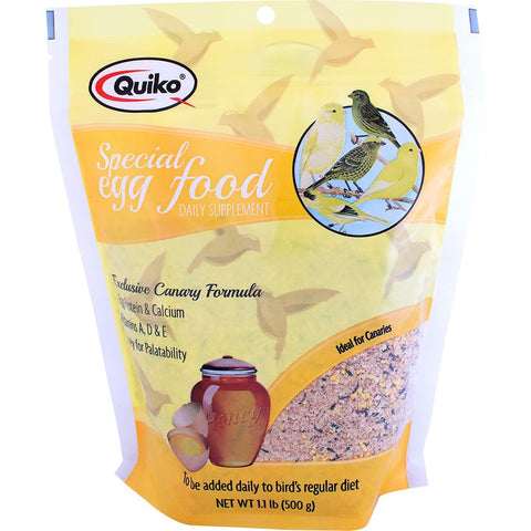 Quiko Special Egg Food Canary Supplement, 1.1 lbs