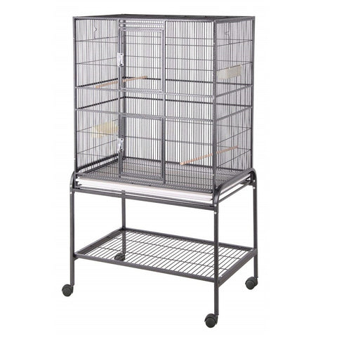 "32"" x 21"" Flight Bird Cage, Black"
