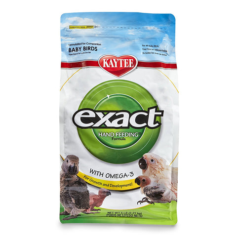 Kaytee Exact Hand Feeding for Baby Birds, 5 lbs