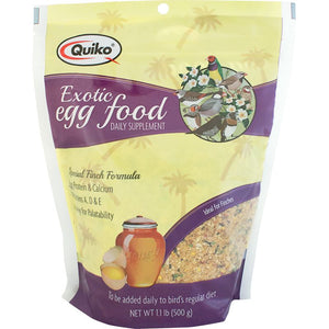 Sun Seed Company - Quiko Exotic Eggfood Supplement, 1.1 lb