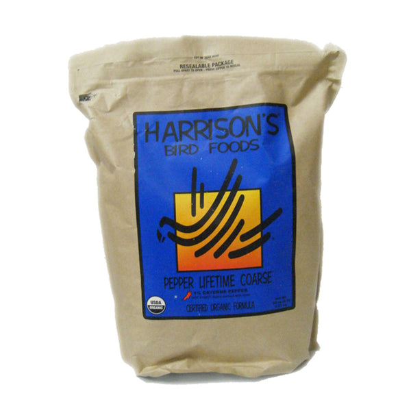 Harrison's Pepper Lifetime Coarse Bird Food 5lb (6/case)