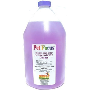Pet Focus Aviary and Cage Cleaner, 1 Gal (4/case)