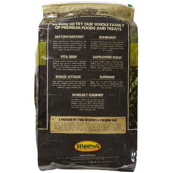 HigginsSafflower Gold Large Hookbill Bird Food 25lb