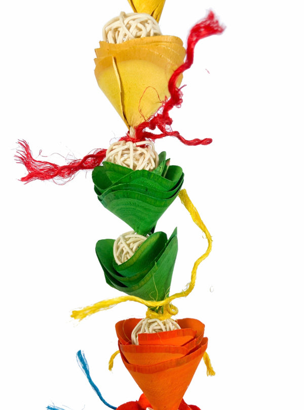 Birds LOVE Flower Tower Parrot Toy